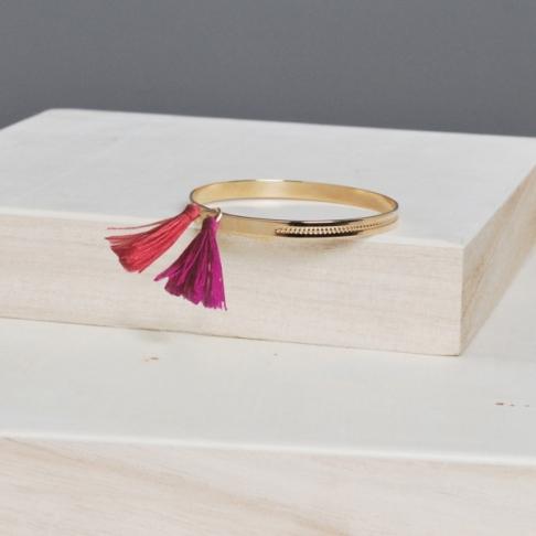 bracelet-manchette-massai-plaque-or
