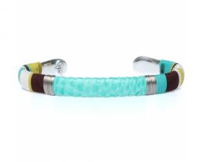 Bracelet-Massai-python-turquoise-GAS-BIJOUX-300x235