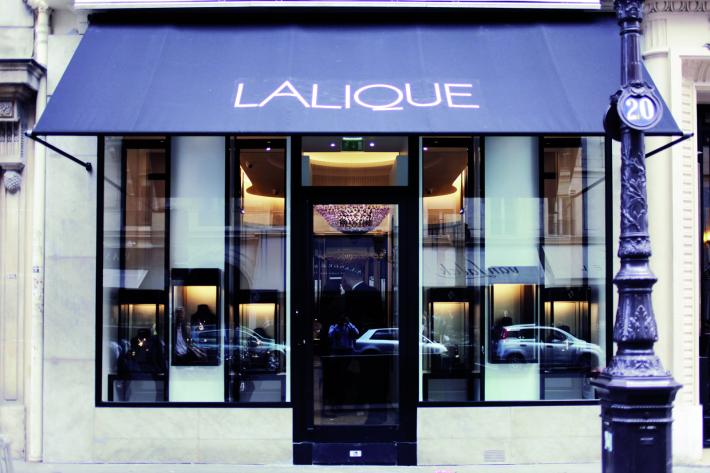 Boutique Lalique Joaillerie - Front - AGENCE PUSTETTO