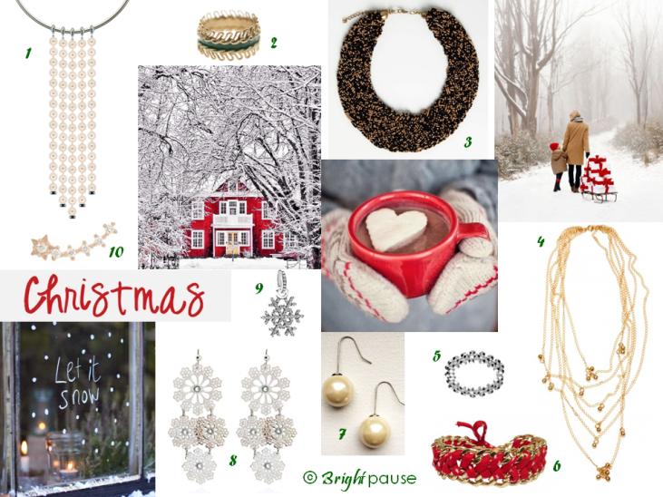 Sélection bijoux Noël - Bright Pause