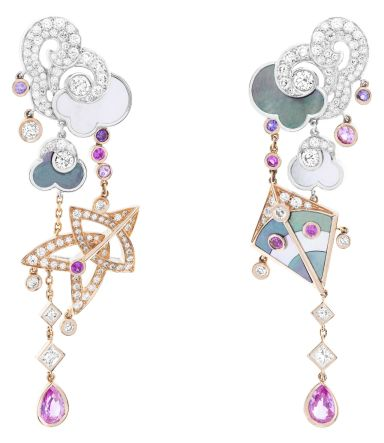 Cerfs-Volants-Van-Cleef-Arpels-large-model-earrings-pink-gold-pink-and-mauve-sapphires-white-gold-mother-of-pearl-and-diamonds_714784