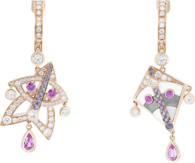 Cerfs-Volants-Van-Cleef-Arpels-small-model-earrings-pink-gold-pink-and-mauve-sapphires-white-gold-mother-of-pearl-and-diamonds_723051-731x610