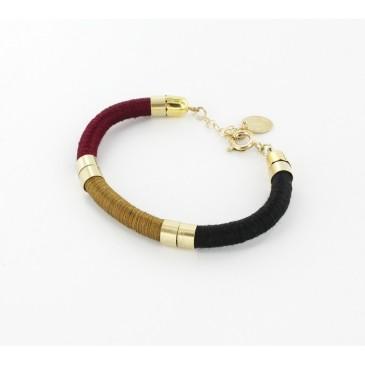 bracelet-jonc-gecko-rouge-bordeaux