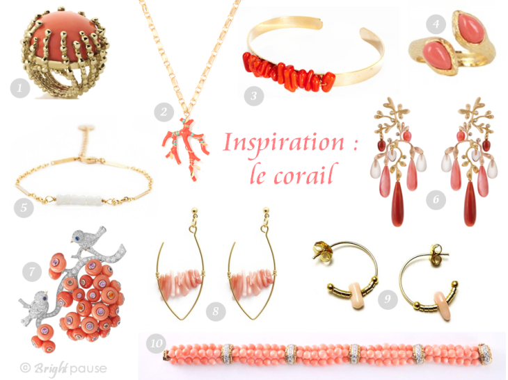 Bright Pause - Inspiration corail