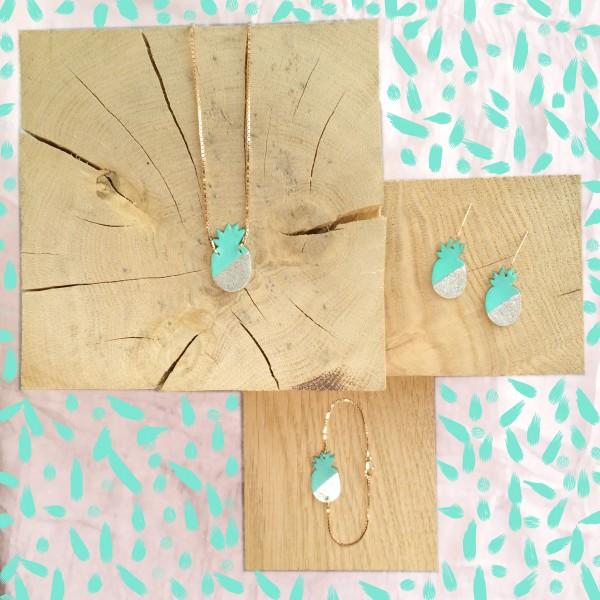 bracelet-en-cuir-ananas-bicolore-lagoon-et-argent (1)