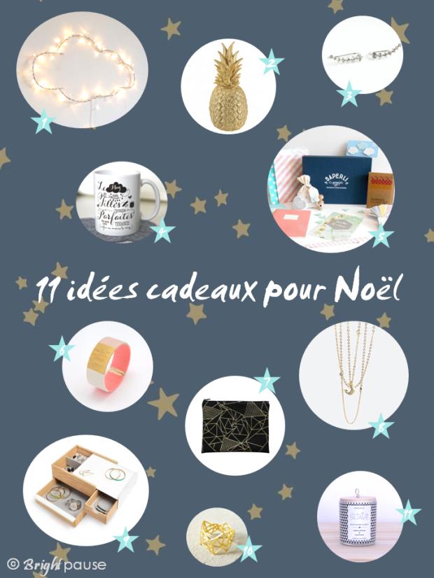Bright Pause_Idées cadeaux Noël 2015