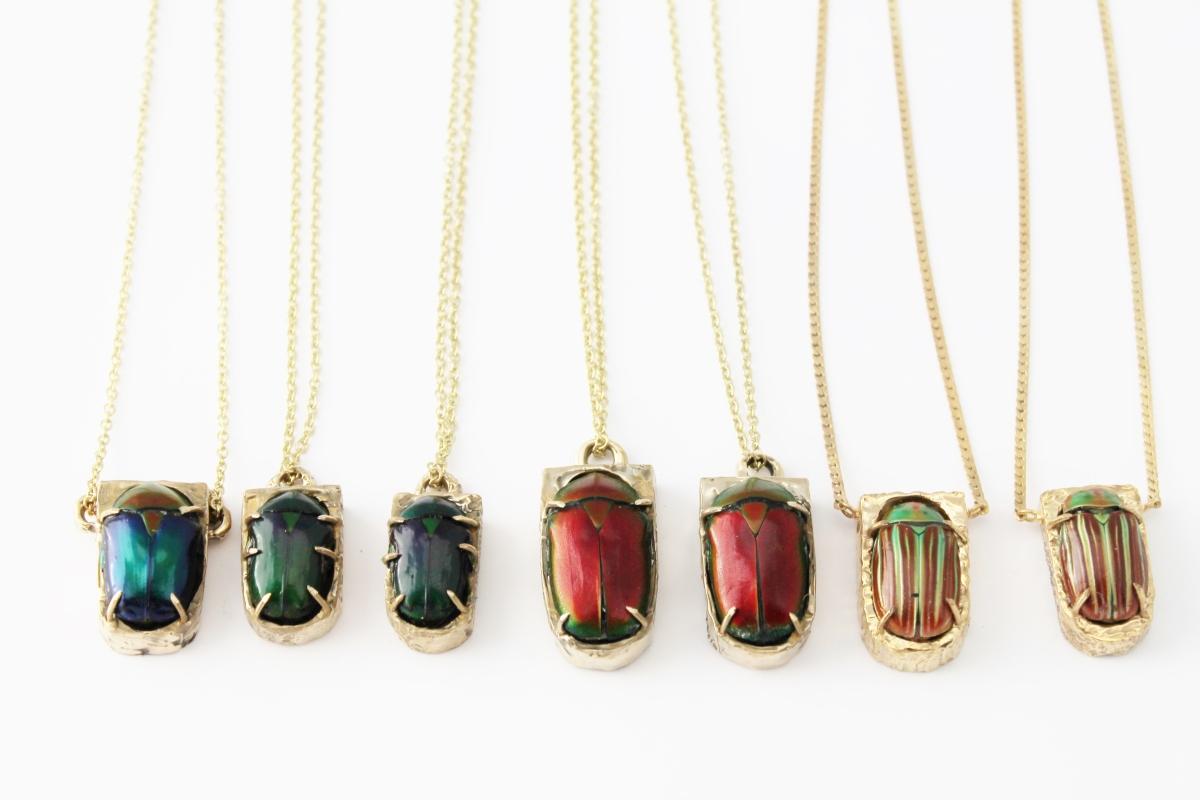 Les bijoux organiques de Sophie Doungouss