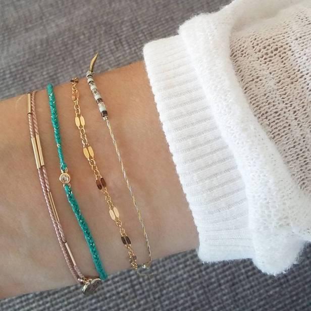Bracelets Corail Menthe / Sir Jane / Corail Menthe / Brüne